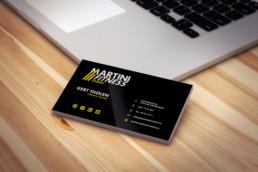 Martini Fitness Studio Visitekaartje