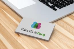 Logo mockup BabythuisZorg